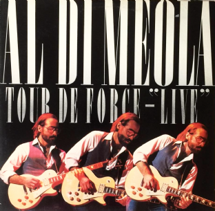 Al Di Meola ‎- Tour De Force: Live (LP) (EX/VG+)